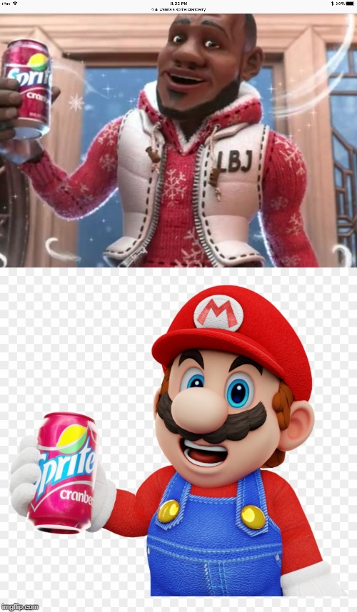 image tagged in wanna sprite cranberry | made w/ Imgflip meme maker