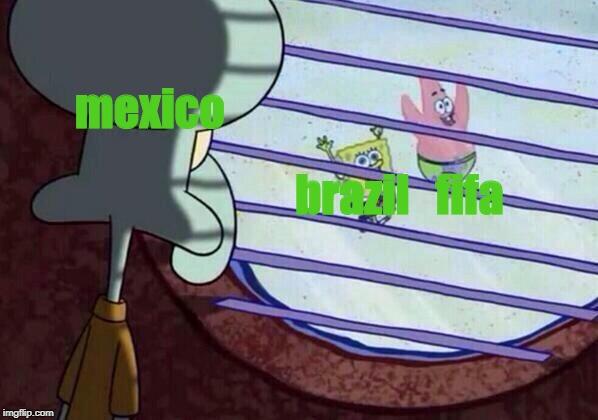 Squidward window Memes - Imgflip