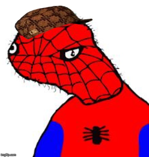 image tagged in spooderman | made w/ Imgflip meme maker