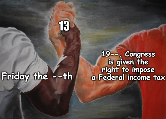 """Nothing is certain in this world, except death and taxes"" -- Benjamin Franklin 