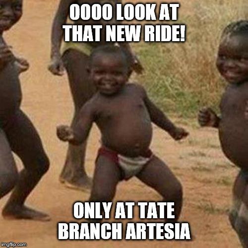 Tate Branch Artesia >> Third World Success Kid Meme Imgflip