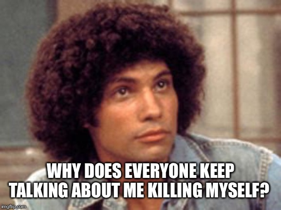 Epstein |  WHY DOES EVERYONE KEEP TALKING ABOUT ME KILLING MYSELF? | image tagged in epstein,jeffrey epstein,hillary clinton,donald trump,memes | made w/ Imgflip meme maker
