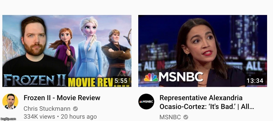 AOC explains how good of a movie Frozen II is | image tagged in frozen,frozen ii,alexandria ocasio-cortez | made w/ Imgflip meme maker
