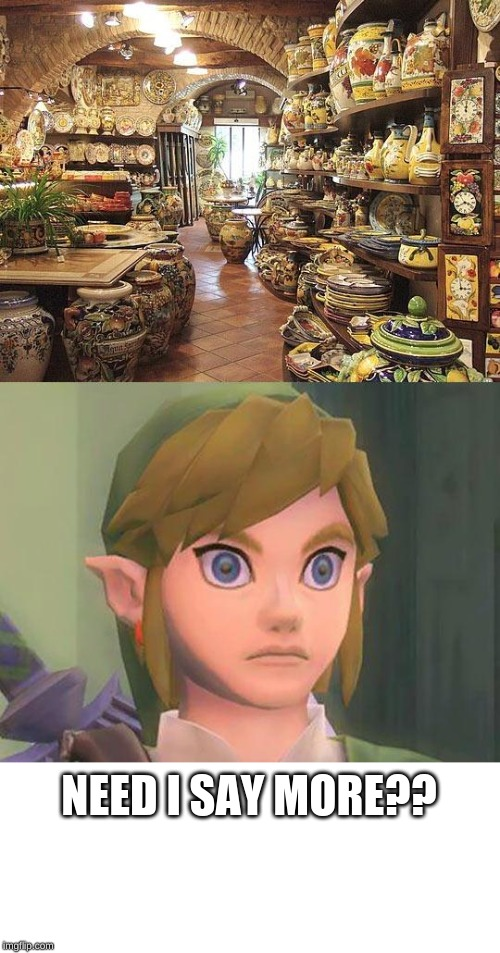 zelda |  NEED I SAY MORE?? | image tagged in zelda | made w/ Imgflip meme maker