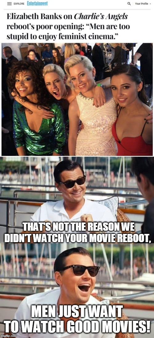 "I didn't know there was such a thing as ""feminist cinema."" 