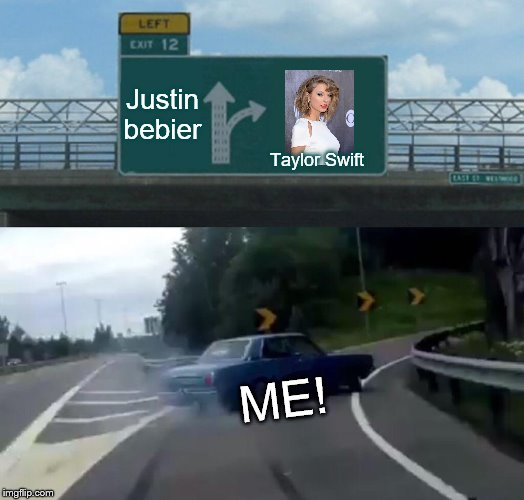 "When people ask ""who's my fav singer?"" 