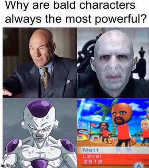 Powerful Bald Character Meme | image tagged in memes,funny,very funny,yeah,yep,meme | made w/ Imgflip meme maker