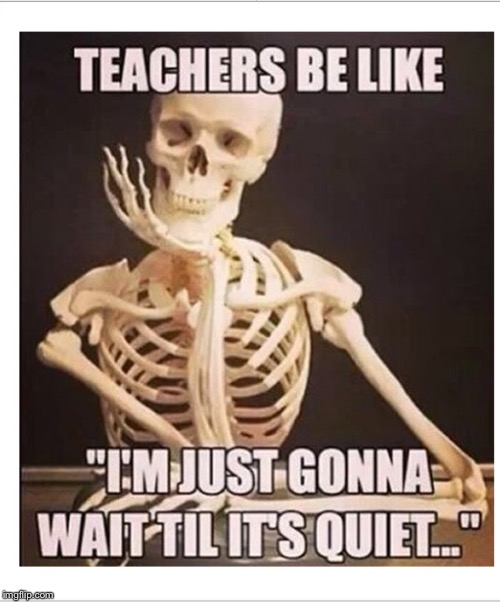 Dead teacher | image tagged in teachers | made w/ Imgflip meme maker