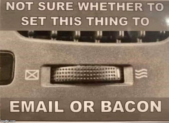 Email My Bacon Please | image tagged in email,bacon,memes | made w/ Imgflip meme maker