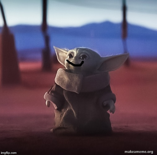 Baby yoda | image tagged in baby yoda | made w/ Imgflip meme maker