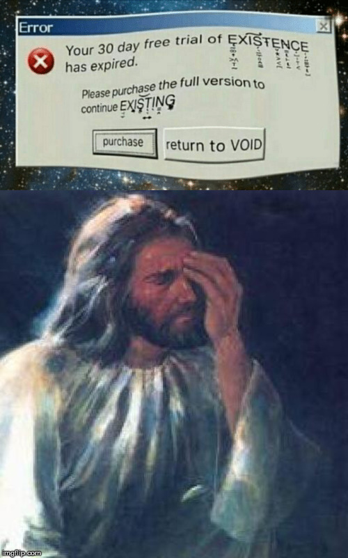 image tagged in jesus facepalm | made w/ Imgflip meme maker