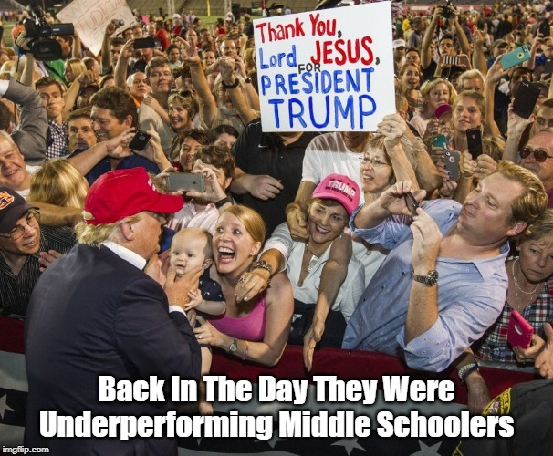 """""""Back In The Day, They Were Underperforming Middle Schoolers"""" 
