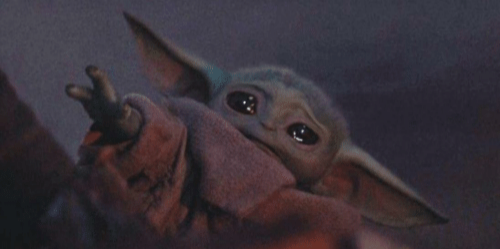 Baby Yoda Cry Meme Generator Imgflip