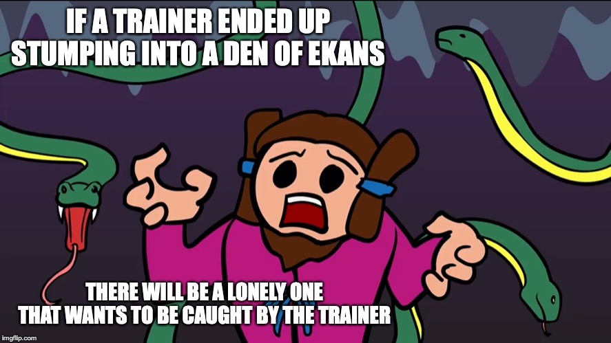 Okuninushi With Deadly Snakes | IF A TRAINER ENDED UP STUMPING INTO A DEN OF EKANS THERE WILL BE A LONELY ONE THAT WANTS TO BE CAUGHT BY THE TRAINER | image tagged in shinto,mythology,okuninushi,memes,limfany,youtube | made w/ Imgflip meme maker