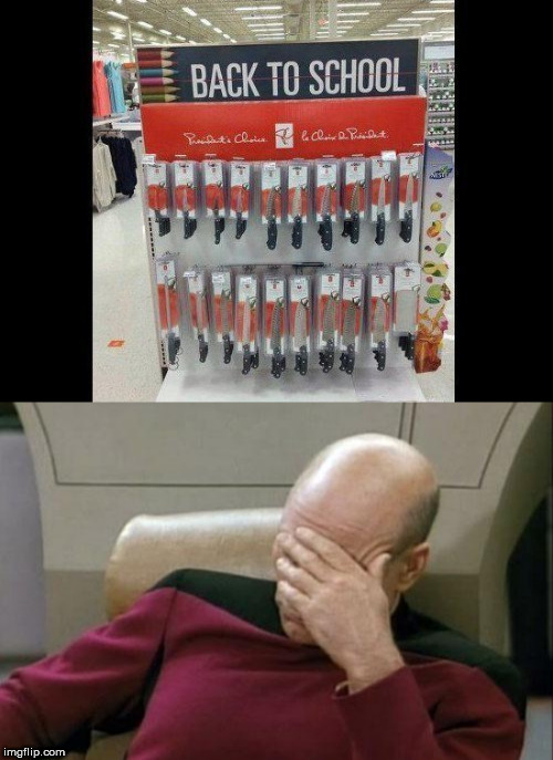 back to school | image tagged in memes,captain picard facepalm | made w/ Imgflip meme maker