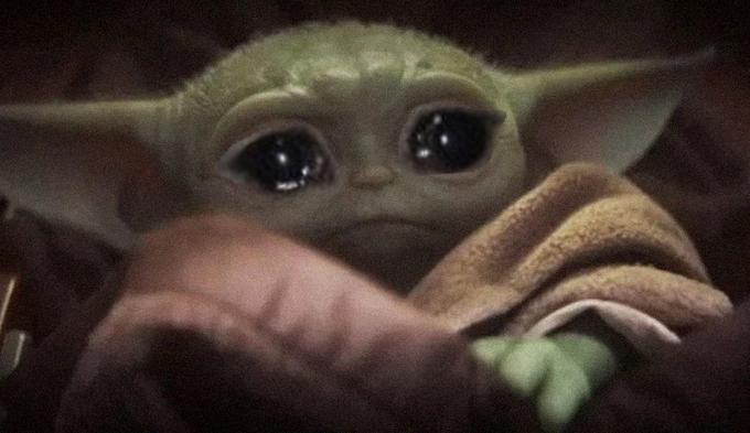Crying Baby Yoda Meme Generator Imgflip