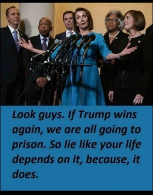 If Trump wins again, we are all going to prison. - Imgflip