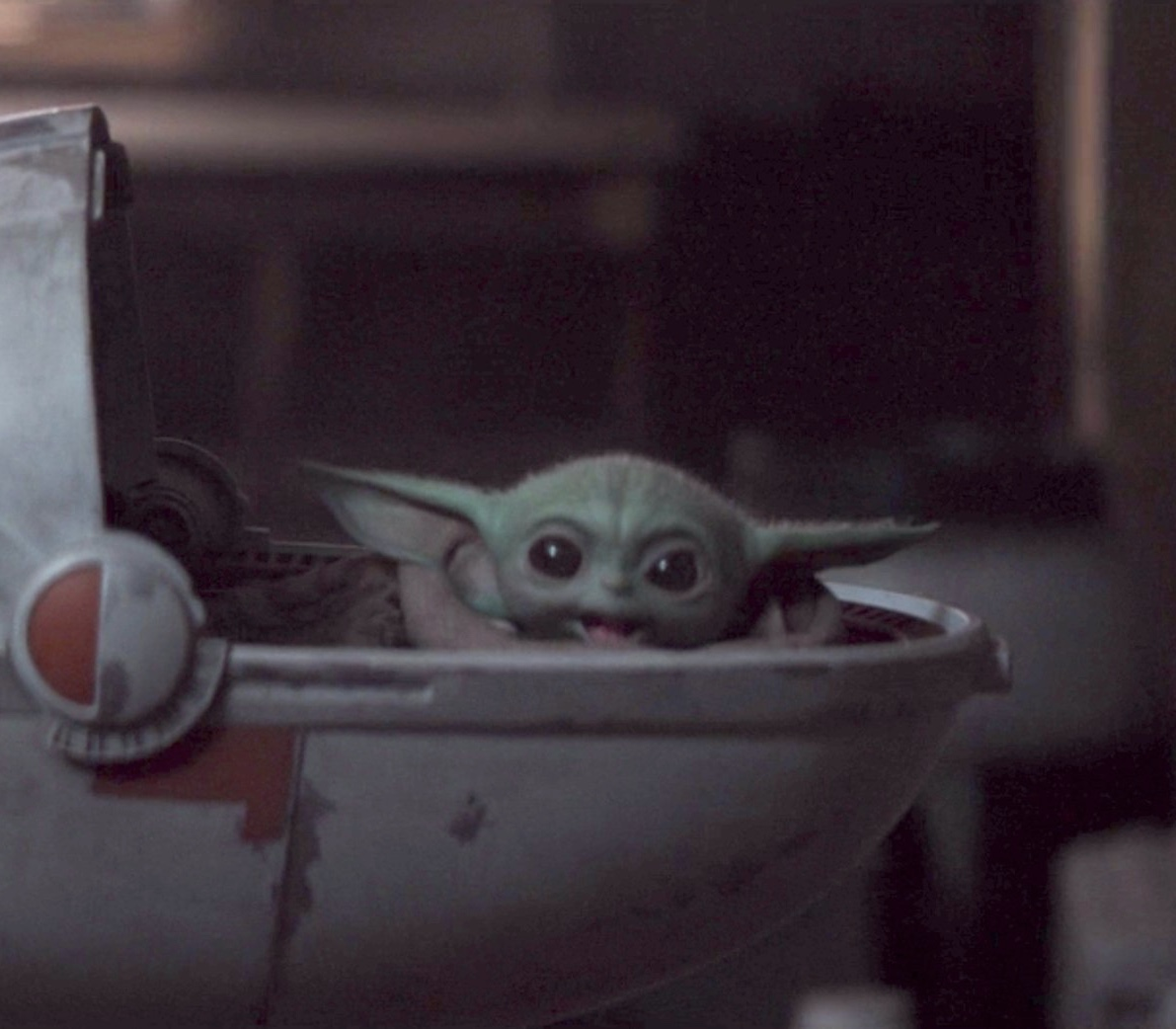 Excited Baby Yoda Blank Template Imgflip