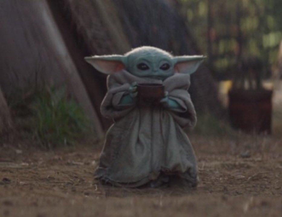 Baby Yoda Cup Meme Generator Imgflip