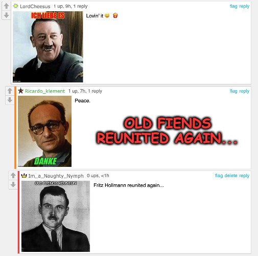 Old Fiends... | OLD FIENDS REUNITED AGAIN... | made w/ Imgflip meme maker