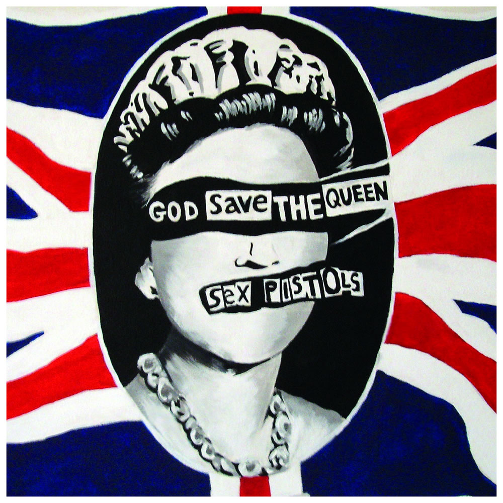 Sex Pistols God Save The Queen Vinyl Single Signed By Steve Jones