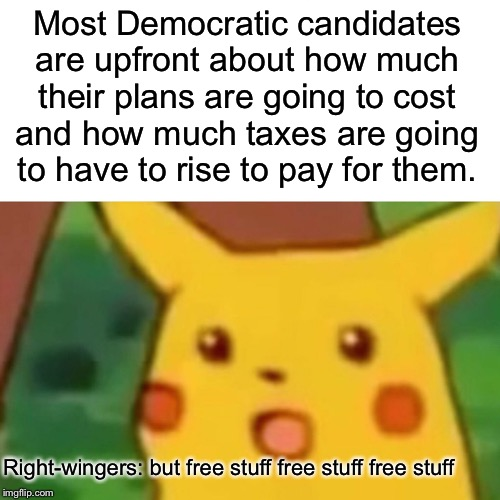 """Free stuff""? 