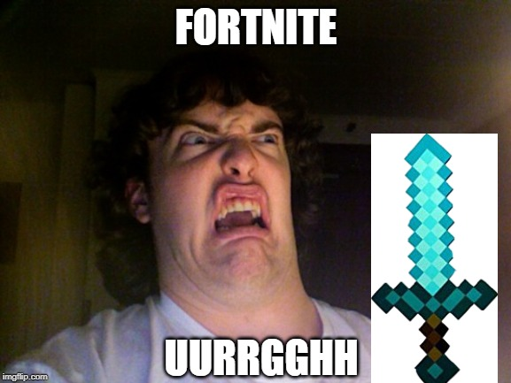 Oh No Meme |  FORTNITE; UURRGGHH | image tagged in memes,oh no | made w/ Imgflip meme maker