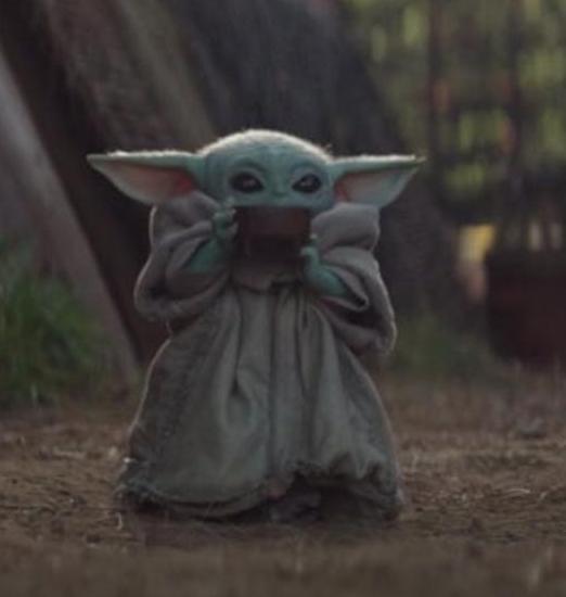 Baby Yoda Coffee Blank Template Imgflip