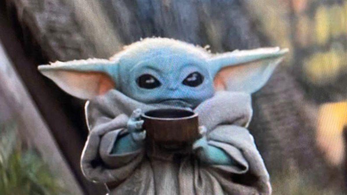 Baby Yoda Soup Blank Template Imgflip