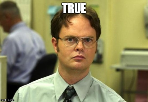 Dwight Schrute Meme | TRUE | image tagged in memes,dwight schrute | made w/ Imgflip meme maker