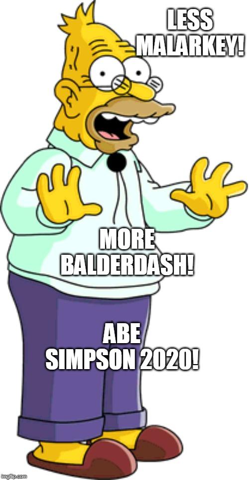 Image Tagged In Satire Grandpasimpson Simpsons Imgflip
