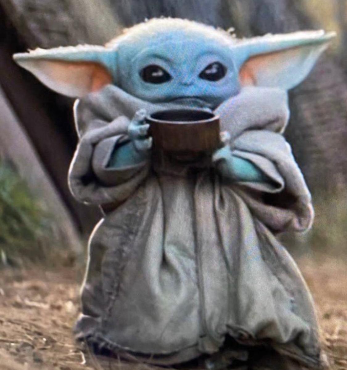 Baby Yoda Blank Template Imgflip