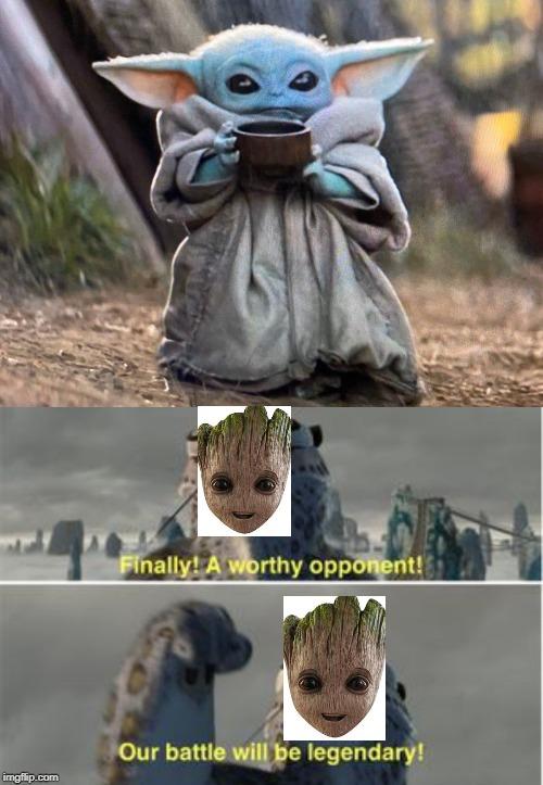 Finally A Worthy Opponent Meme Blank