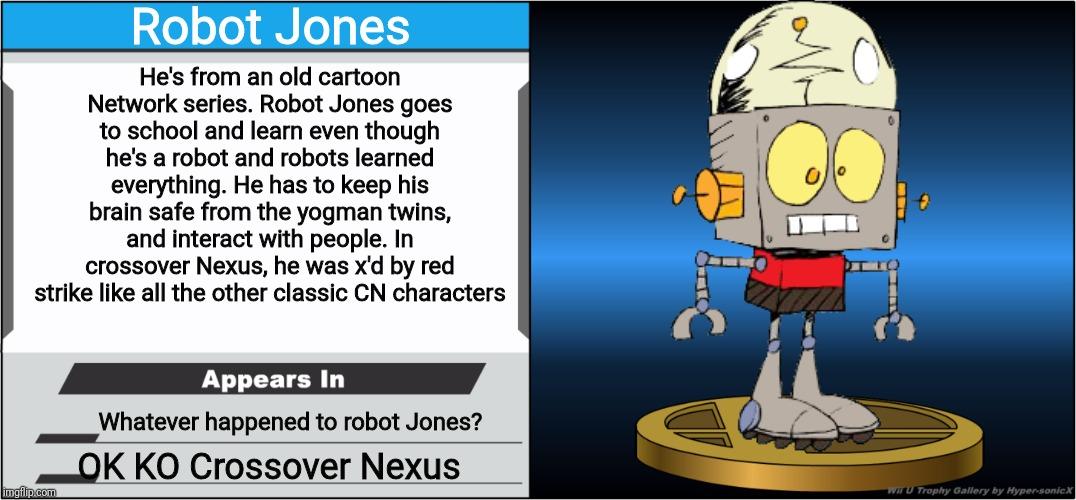 Jones characters robot Robot Jones