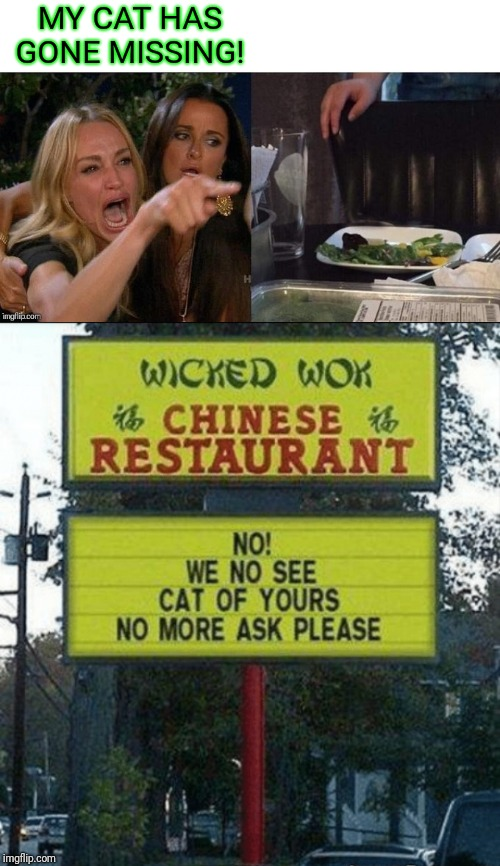 "She had the ""chicken"" on a stick 