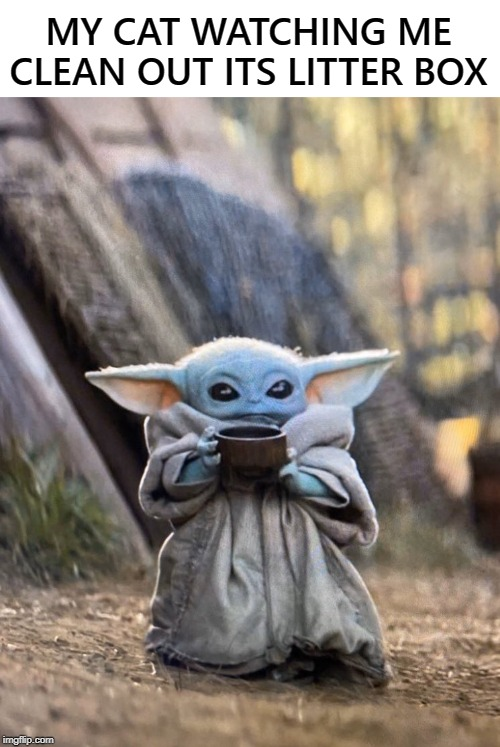 Image tagged in baby yoda coffee - Imgflip