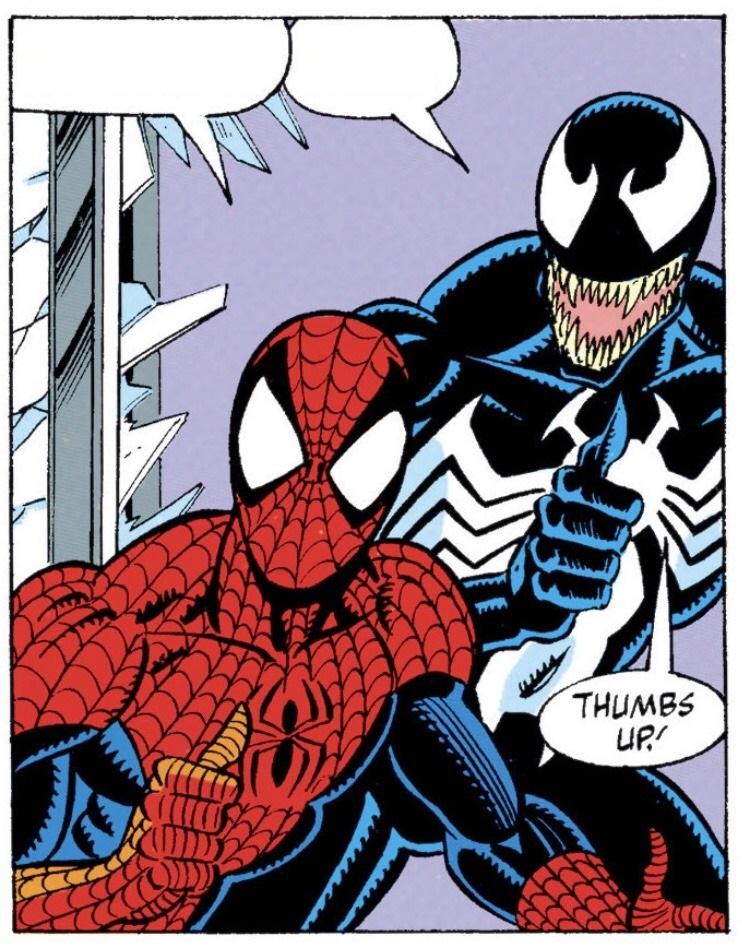 Spiderman Meme Venom - Alison Handley