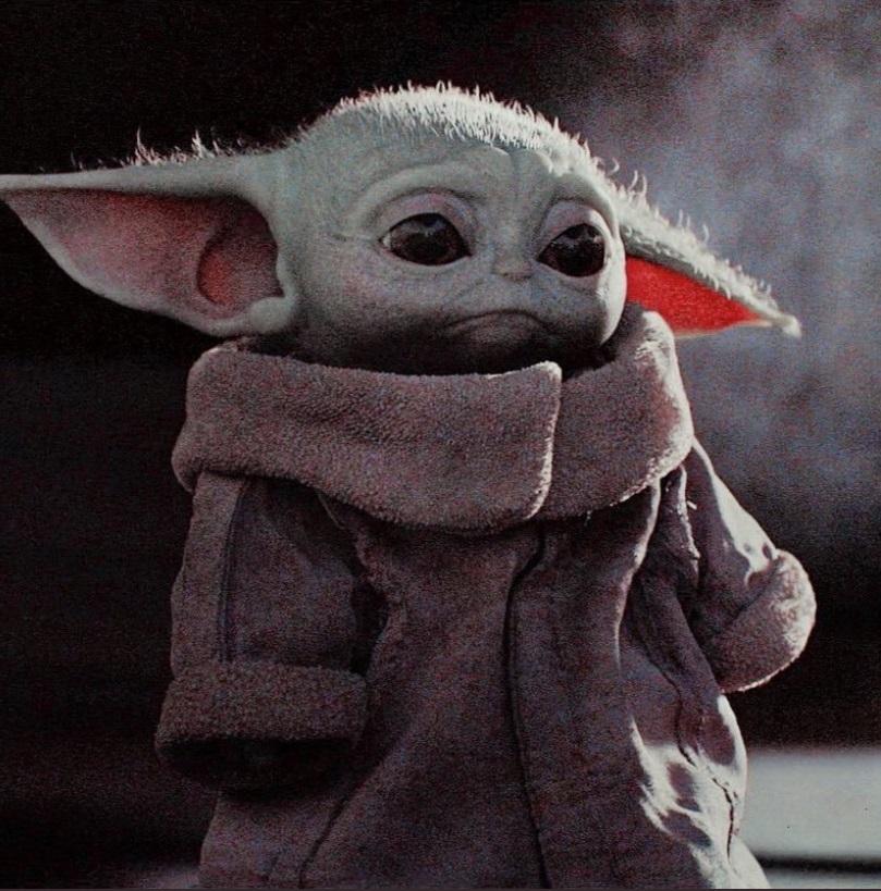 Sad Baby Yoda Blank Template Imgflip