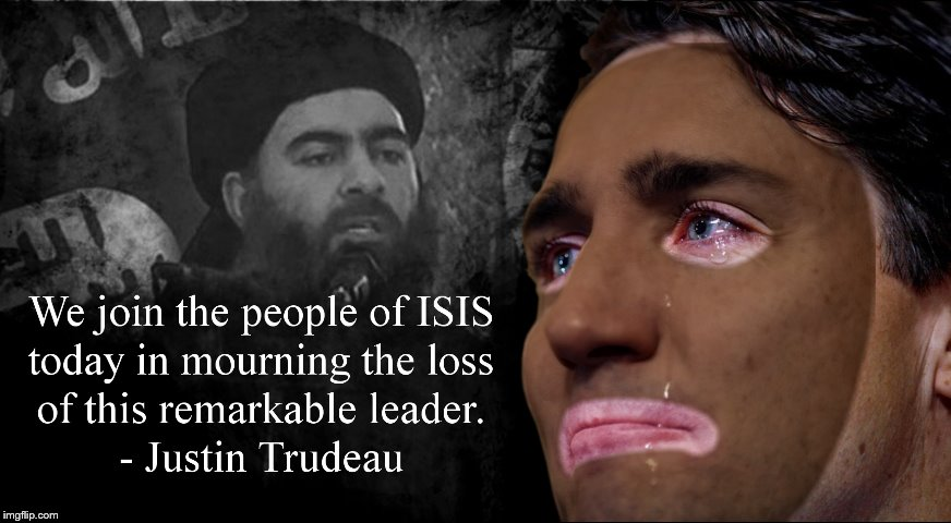 Justin Trudeau remembers isis | image tagged in justin trudeau,sjw | made w/ Imgflip meme maker