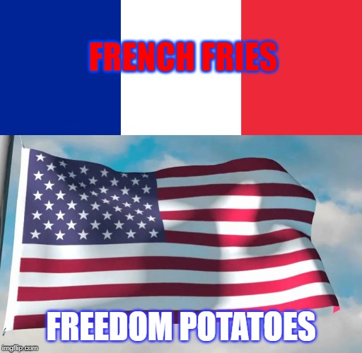 USA 'freedom fries' are French fries again | Dear Kitty ...