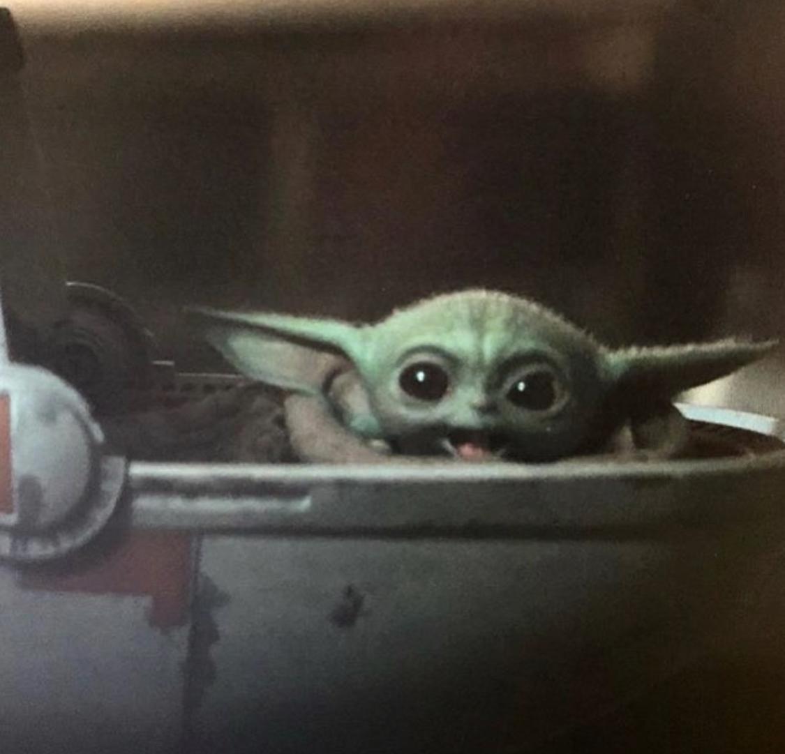 Baby Yoda Happy Meme Generator Imgflip