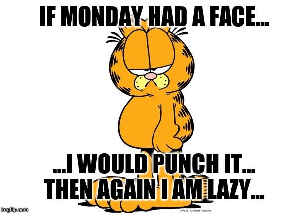 Grumpy Garfield Imgflip