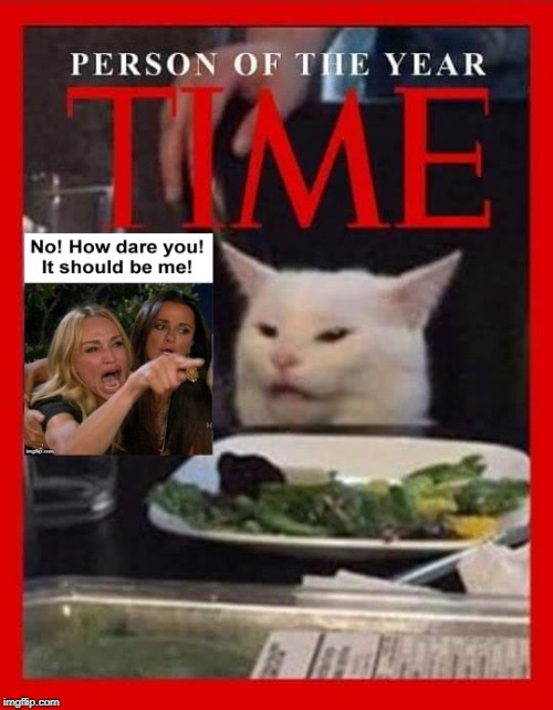 Either of these two better than Greta | image tagged in memes,woman yelling at cat,greta thunberg how dare you | made w/ Imgflip meme maker