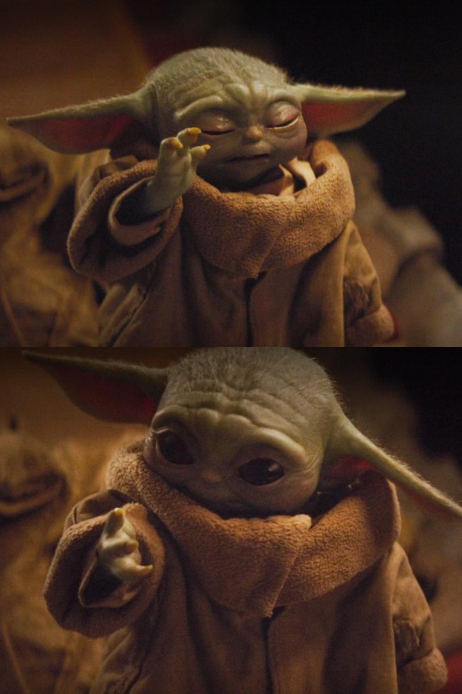 Baby Yoda Powers Blank Template Imgflip