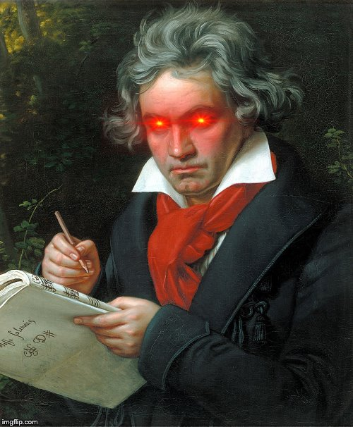 Beethoven  | image tagged in beethoven | made w/ Imgflip meme maker
