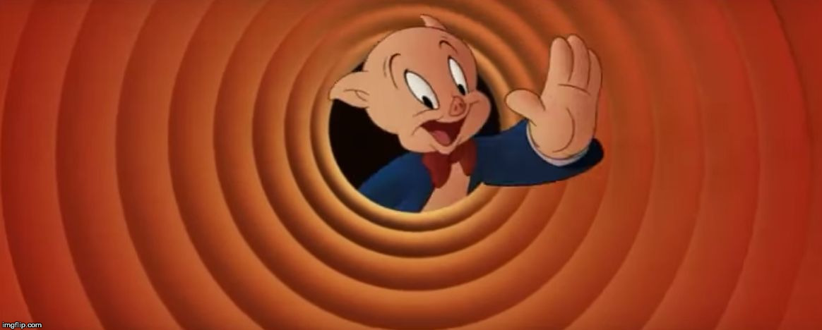 image tagged in porky pig that's all folks | made w/ Imgflip meme maker