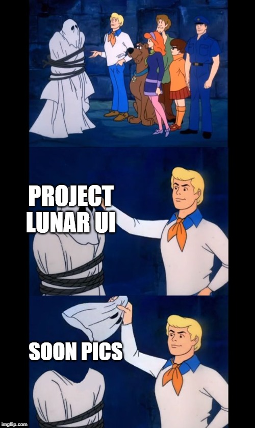 Let's see who this really is |  PROJECT LUNAR UI; SOON PICS | image tagged in let's see who this really is | made w/ Imgflip meme maker