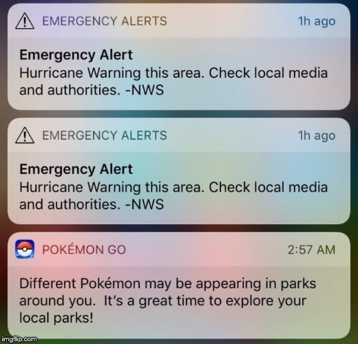 ummm wtf | image tagged in pokemon,pokemon go,hurricane | made w/ Imgflip meme maker
