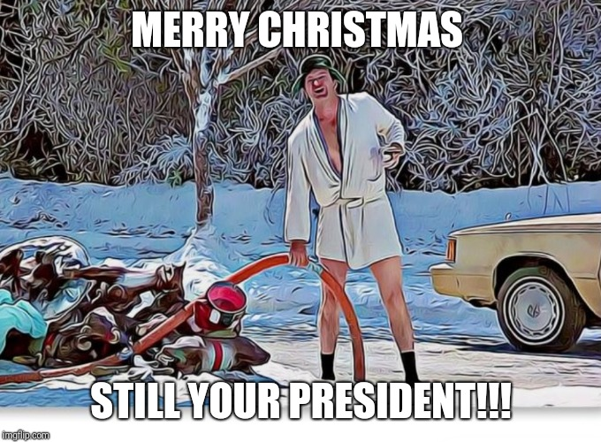 MERRY CHRISTMAS; STILL YOUR PRESIDENT!!! | image tagged in drain the swamp,trump,election 2020,make america great again,merry christmas,christmas vacation | made w/ Imgflip meme maker