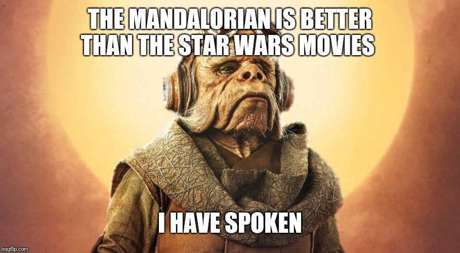 """I Have Spoken."" -Kuill the Ugnaught 